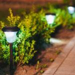 Buitenlampen op zonne energie